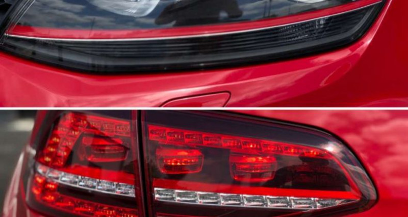 Volkswagen Golf GTI 2.0 TSI 230pk Performance   1e owner car   DCC Rouge occasion à Kruishoutem - photo n°5