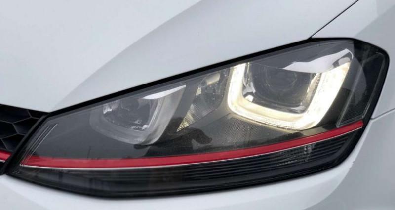 Volkswagen Golf GTI 2.0TSI 230pk Performance DSG|reserved - gereserveerd Blanc occasion à Kruishoutem - photo n°4
