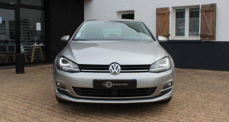 Volkswagen Golf Match All Star TDI 110cv full cuir Gris occasion à COIGNIERES - photo n°6