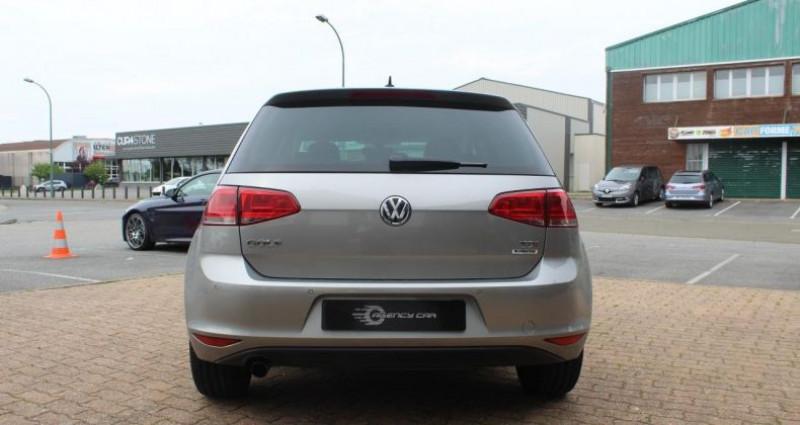 Volkswagen Golf Match All Star TDI 110cv full cuir Gris occasion à COIGNIERES - photo n°5