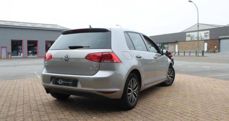 Volkswagen Golf Match All Star TDI 110cv full cuir Gris occasion à COIGNIERES - photo n°3