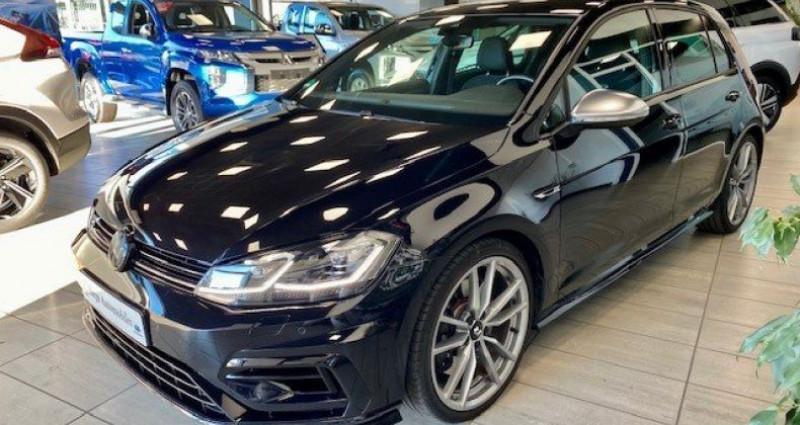 Volkswagen Golf R VII (2) 2.0 TSI 310 BLUEMOTION TECHNOLOGY 4MOTION DSG7 5P Noir occasion à Saint Vincent De Boisset