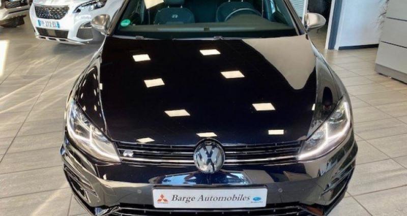 Volkswagen Golf R VII (2) 2.0 TSI 310 BLUEMOTION TECHNOLOGY 4MOTION DSG7 5P Noir occasion à Saint Vincent De Boisset - photo n°3