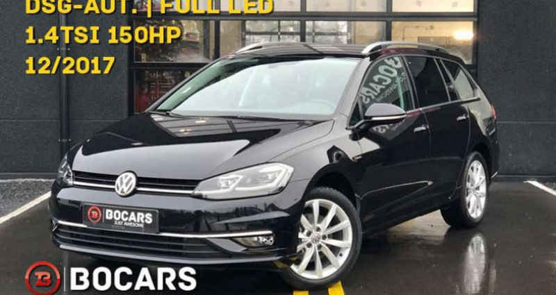 Volkswagen Golf Variant 1.4 TSI 150pk Highline|LED-lichten|DSG-automaat Noir occasion à Kruishoutem