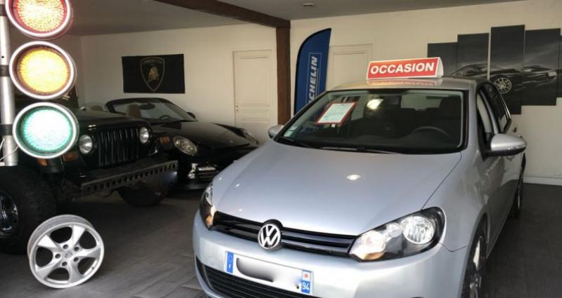 Volkswagen Golf VI 2.0 TDI 110 Trendline DSG 6 5 portes Gris occasion à Nanteuil Les Meaux