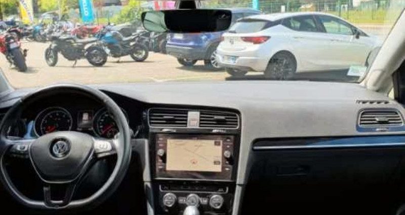 Volkswagen Golf VI TSI 150 DSG 7 Carat Noir occasion à LA TALAUDIERE - photo n°4