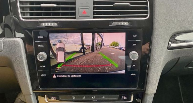 Volkswagen Golf VI TSI 150 DSG 7 Carat Noir occasion à LA TALAUDIERE - photo n°3