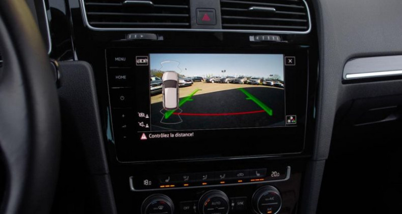 Volkswagen Golf VII (2) 1.5 TSI EVO 130 BLUEMOTION TECHNOLOGY CARAT EXCLUSIV Gris occasion à Chambourcy - photo n°6
