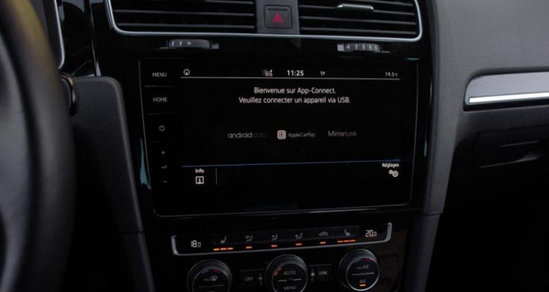 Volkswagen Golf VII (2) 1.5 TSI EVO 130 BLUEMOTION TECHNOLOGY CARAT EXCLUSIV Gris occasion à Chambourcy - photo n°7