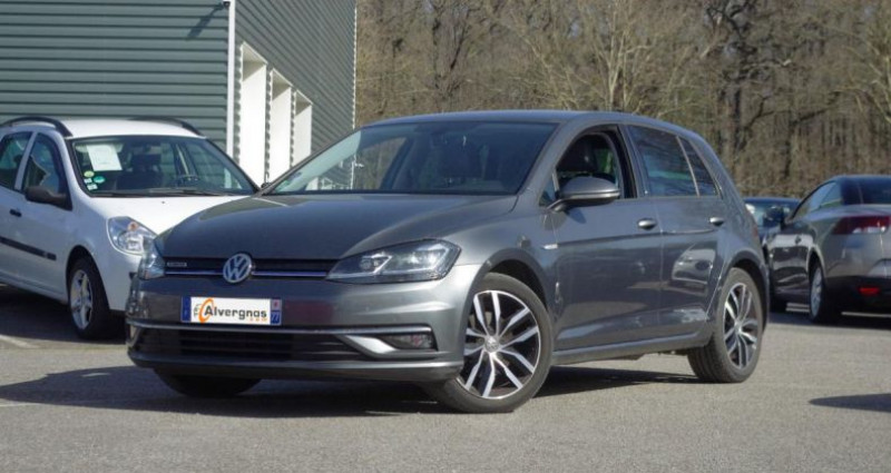 Volkswagen Golf VII (2) 1.5 TSI EVO 130 BLUEMOTION TECHNOLOGY CARAT EXCLUSIV Gris occasion à Chambourcy