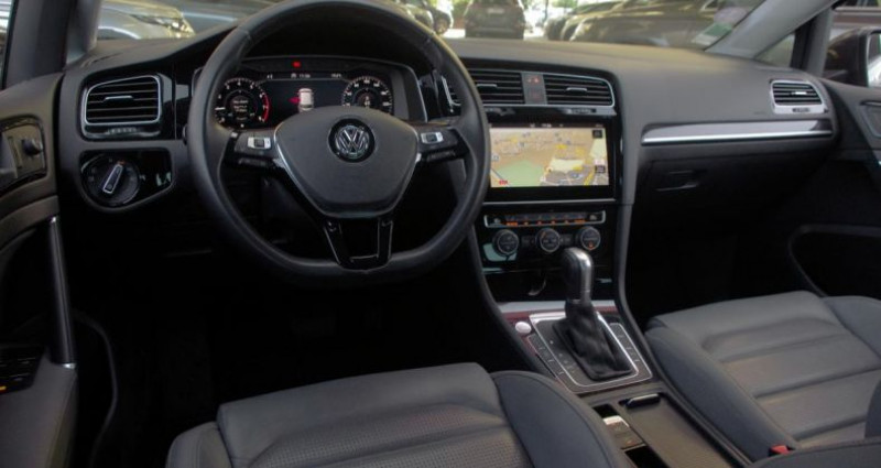 Volkswagen Golf VII (2) 1.5 TSI EVO 130 BLUEMOTION TECHNOLOGY CARAT EXCLUSIV Gris occasion à Chambourcy - photo n°2