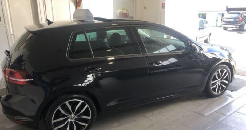 Volkswagen Golf VII (2) 2.0 TDI 150 DSG6 Carat Exclusive 5P Noir occasion à Nanteuil Les Meaux - photo n°3