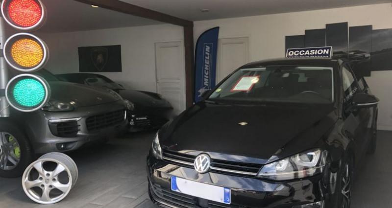 Volkswagen Golf VII (2) 2.0 TDI 150 DSG6 Carat Exclusive 5P Noir occasion à Nanteuil Les Meaux