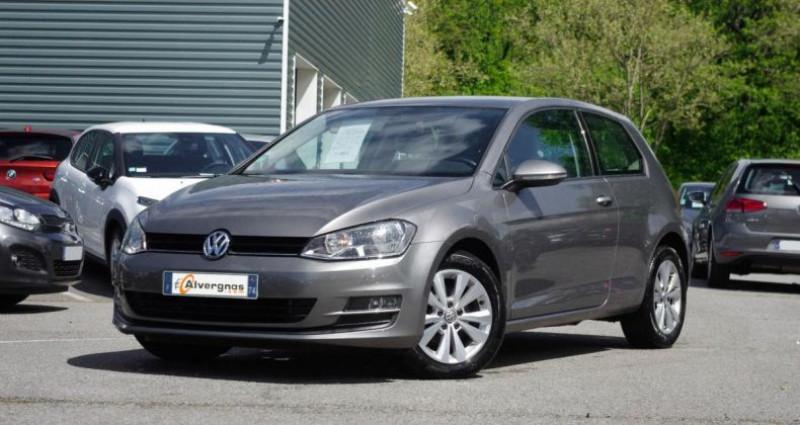 Volkswagen Golf VII 1.2 TSI 105 BLUEMOTION TECHNOLOGY CONFORTLINE DSG7 3P Gris occasion à Chambourcy