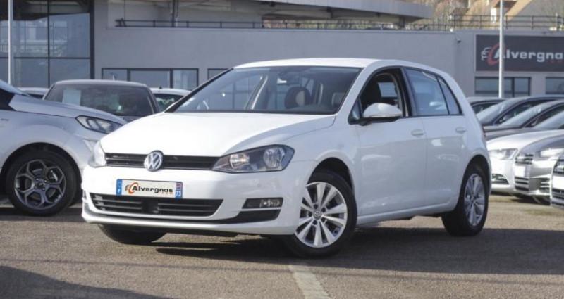Volkswagen Golf VII 1.2 TSI 105 BLUEMOTION TECHNOLOGY CONFORTLINE DSG7 5P Blanc occasion à Chambourcy