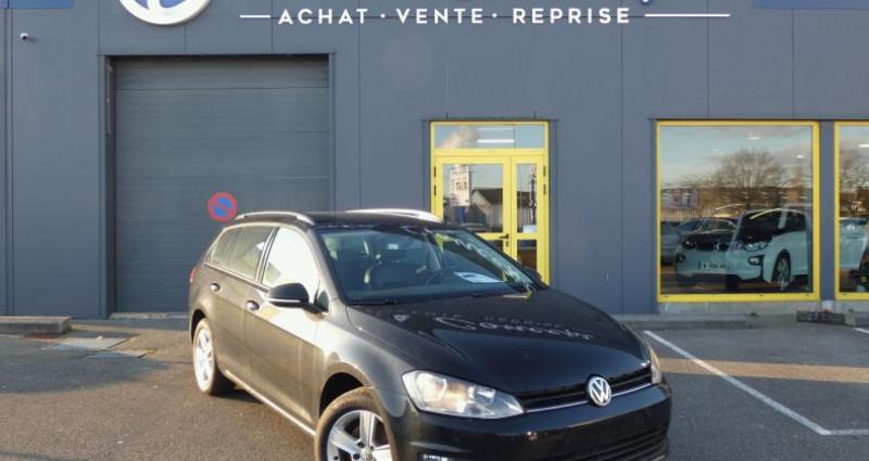 Volkswagen Golf VII 1.6 TDI 110 FAP Confortline Noir occasion à LANESTER