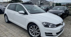 Volkswagen Golf VII 2.0 TDI 150 FAP BlueMotion Technology Carat 5p Blanc à SELESTAT 67