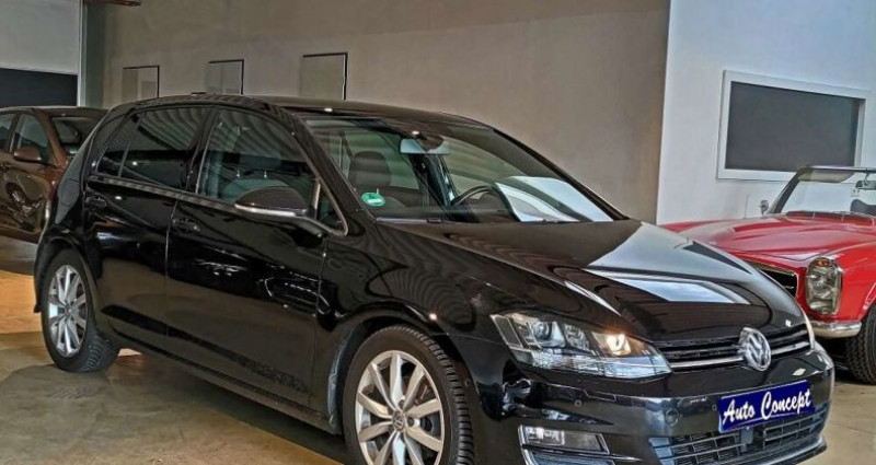 Volkswagen Golf VII 2.0 TDI 150 FAP BlueMotion Noir occasion à LANESTER - photo n°2