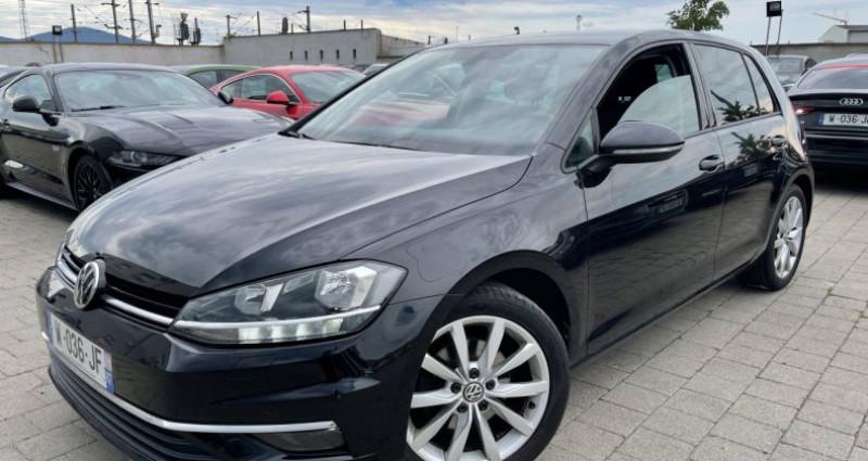 Volkswagen Golf VII 2.0 TDI 150ch BlueMotion Technology FAP Carat Exclusive  Noir occasion à SELESTAT - photo n°2