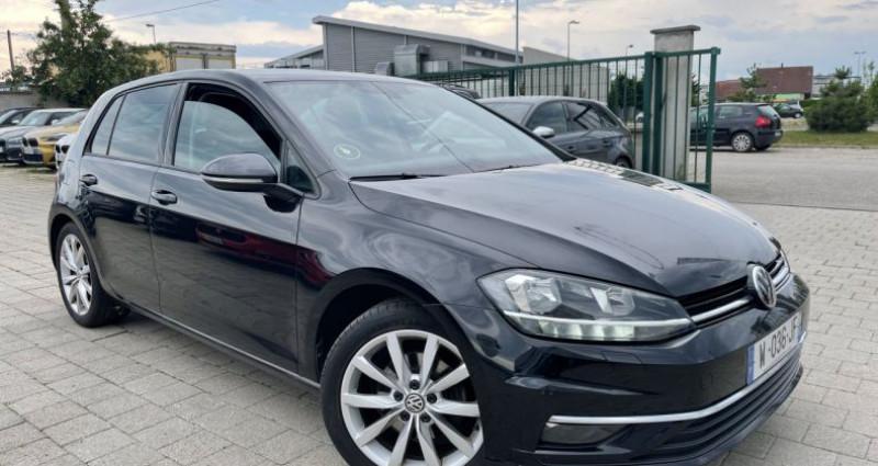 Volkswagen Golf VII 2.0 TDI 150ch BlueMotion Technology FAP Carat Exclusive  Noir occasion à SELESTAT
