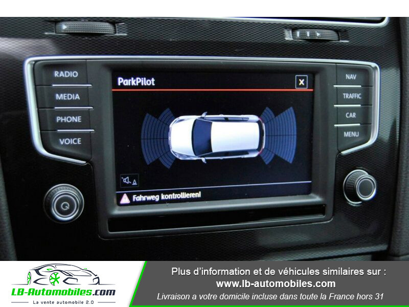 Volkswagen Golf VII 2.0 TSI 220 GTI DSG Noir occasion à Beaupuy - photo n°8