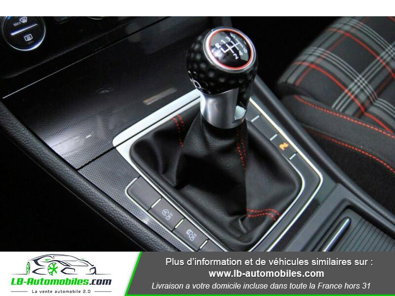 Volkswagen Golf VII 2.0 TSI 220 GTI DSG Noir occasion à Beaupuy - photo n°9