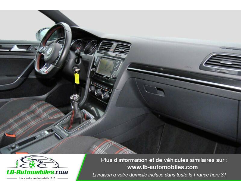 Volkswagen Golf VII 2.0 TSI 220 GTI DSG Noir occasion à Beaupuy - photo n°7