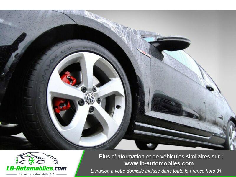Volkswagen Golf VII 2.0 TSI 220 GTI DSG Noir occasion à Beaupuy - photo n°11