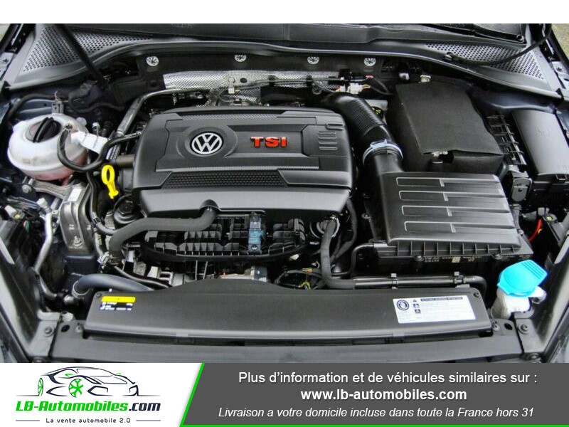 Volkswagen Golf VII 2.0 TSI 220 GTI DSG Noir occasion à Beaupuy - photo n°14