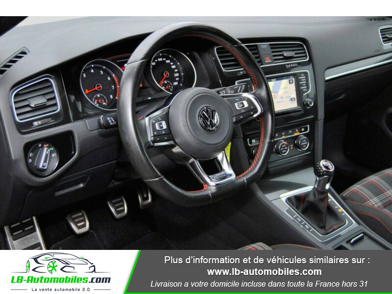 Volkswagen Golf VII 2.0 TSI 220 GTI DSG Noir occasion à Beaupuy - photo n°2