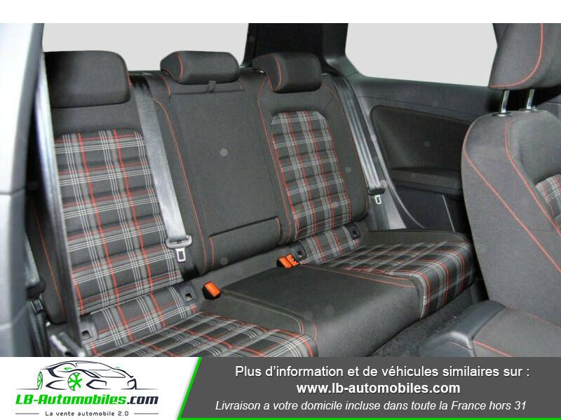 Volkswagen Golf VII 2.0 TSI 220 GTI DSG Noir occasion à Beaupuy - photo n°6