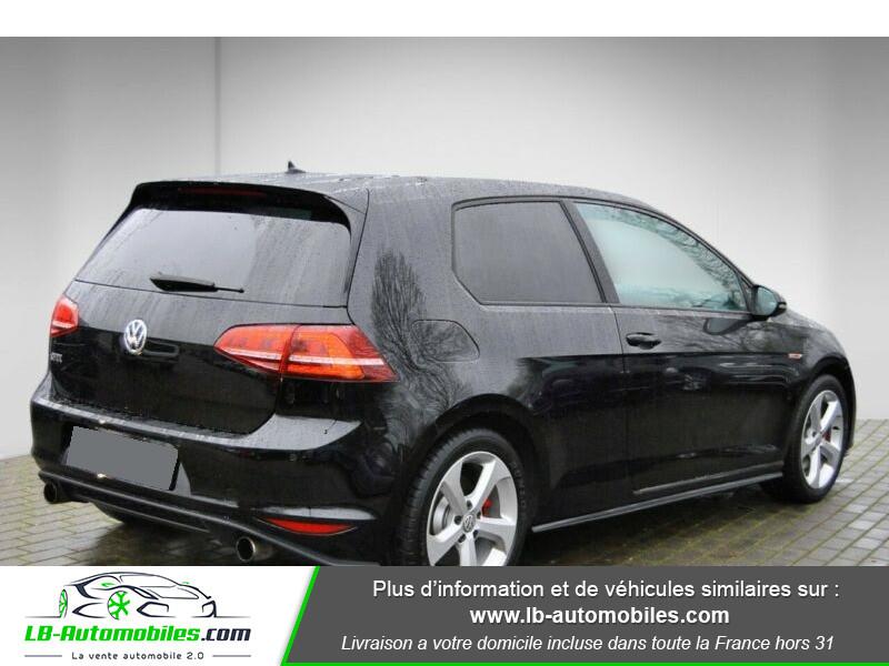 Volkswagen Golf VII 2.0 TSI 220 GTI DSG Noir occasion à Beaupuy - photo n°3