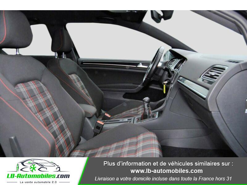 Volkswagen Golf VII 2.0 TSI 220 GTI DSG Noir occasion à Beaupuy - photo n°5