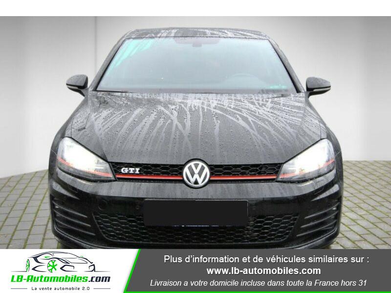 Volkswagen Golf VII 2.0 TSI 220 GTI DSG Noir occasion à Beaupuy - photo n°4