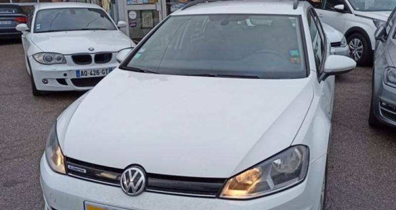 Volkswagen Golf vii break 1.6 tdi 110 bluemotion Blanc occasion à TULLINS