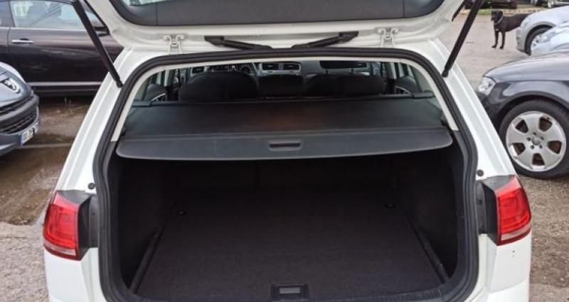 Volkswagen Golf vii break 1.6 tdi 110 bluemotion Blanc occasion à TULLINS - photo n°3