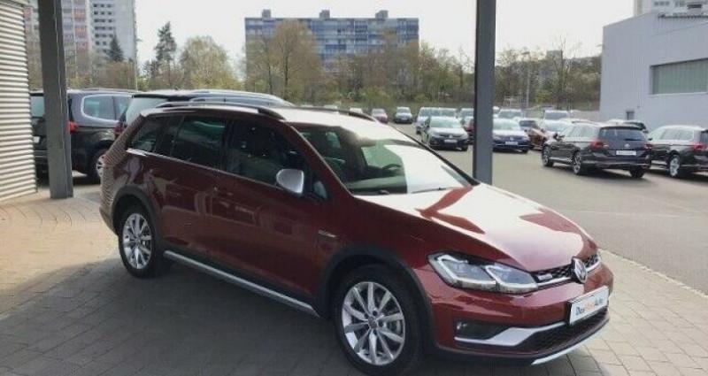 Volkswagen Golf VII Variant Rouge occasion à Eschentzwiller - photo n°3