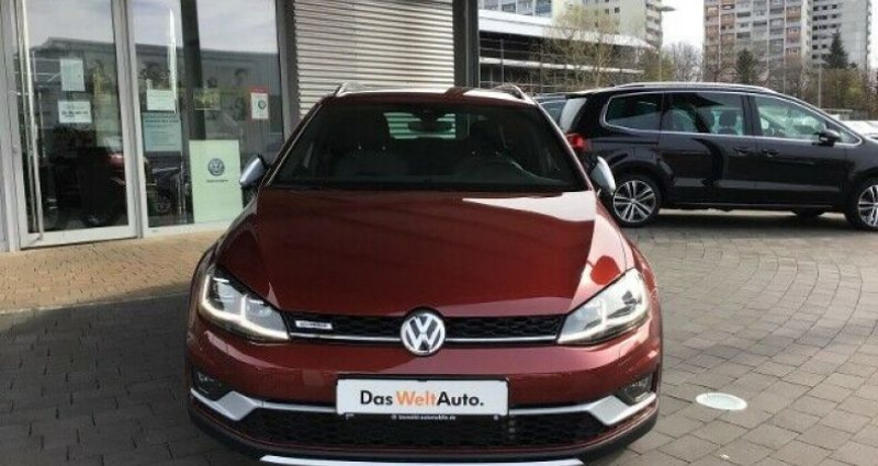 Volkswagen Golf VII Variant Rouge occasion à Eschentzwiller - photo n°2