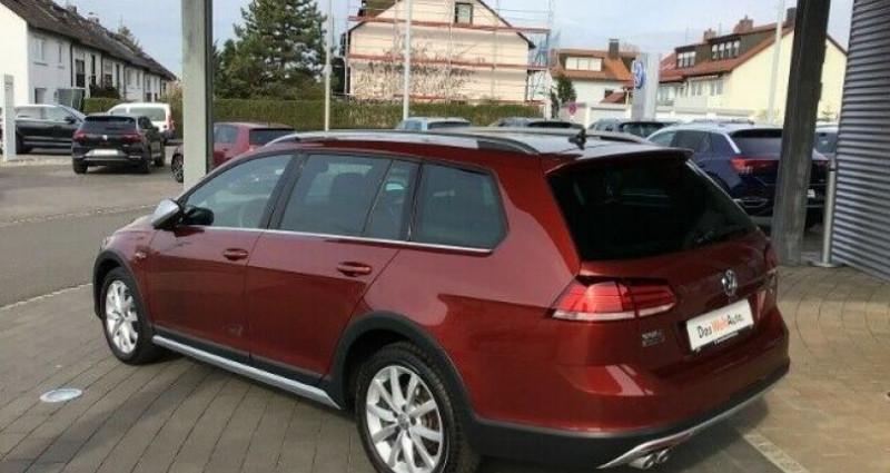 Volkswagen Golf VII Variant Rouge occasion à Eschentzwiller - photo n°7