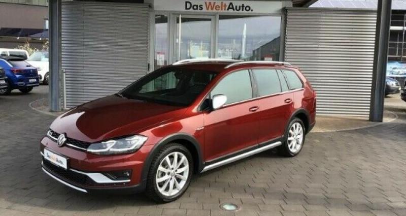 Volkswagen Golf VII Variant Rouge occasion à Eschentzwiller