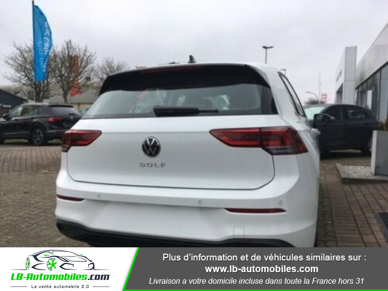 Volkswagen Golf VIII 1.0 TSI 110 Blanc occasion à Beaupuy - photo n°3
