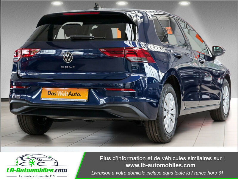 Volkswagen Golf VIII 1.0 TSI 110 Bleu occasion à Beaupuy - photo n°3