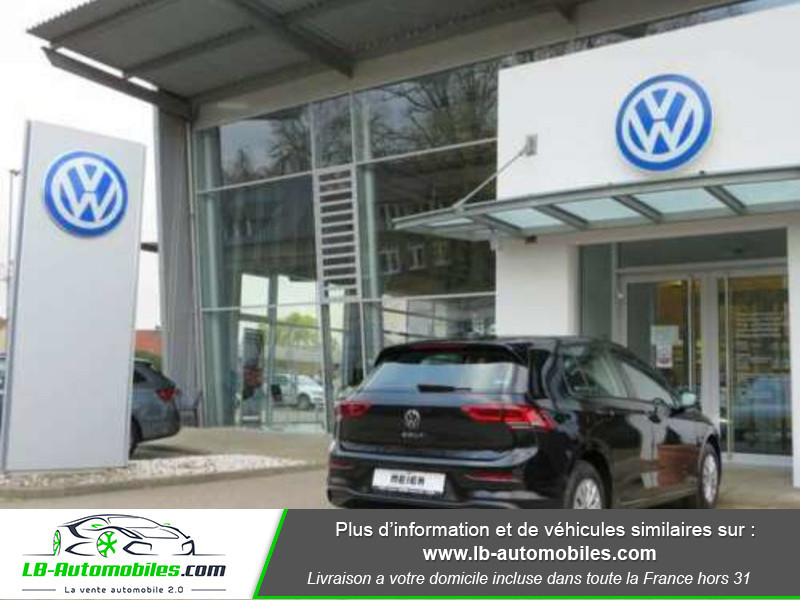 Volkswagen Golf VIII 1.0 TSI 110 Noir occasion à Beaupuy - photo n°3
