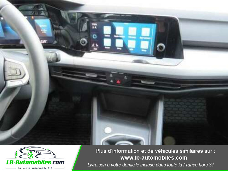 Volkswagen Golf VIII 1.0 TSI 110 Noir occasion à Beaupuy - photo n°7