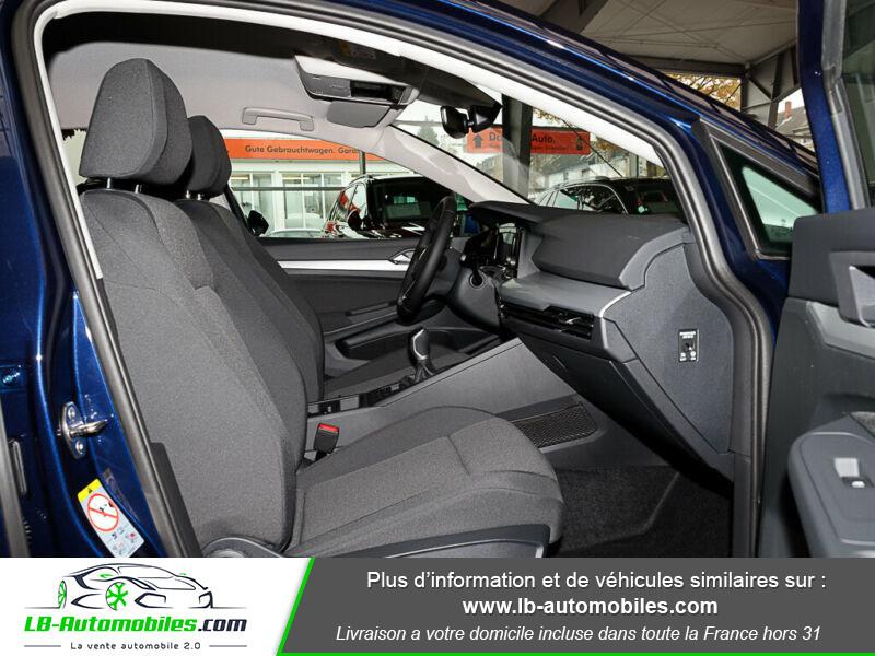 Volkswagen Golf VIII 1.0 TSI 110 Bleu occasion à Beaupuy - photo n°4