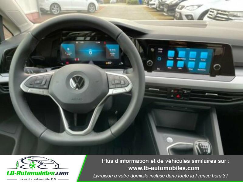 Volkswagen Golf VIII 1.0 TSI 110 Blanc occasion à Beaupuy - photo n°2