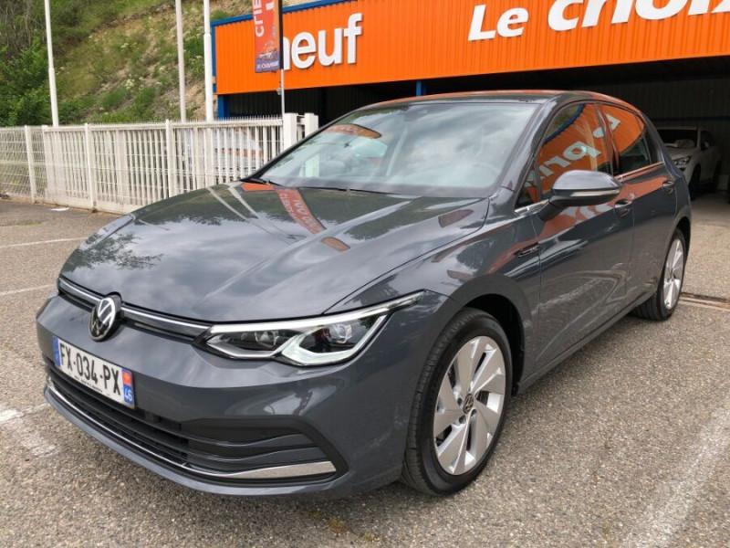 Volkswagen Golf VIII 2.0 TDI 150 DSG STYLE FULL LED 3ans Gtie. Caméra Gris occasion à Cahors