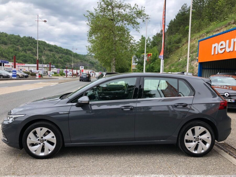 Volkswagen Golf VIII 2.0 TDI 150 DSG STYLE FULL LED 3ans Gtie. Caméra Gris occasion à Cahors - photo n°8