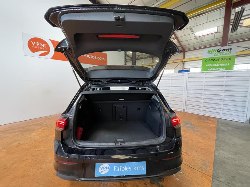 Volkswagen Golf VIII 2.0 TDI 150CH DSG 7 CONNECT GPS Noir occasion à Labège - photo n°14