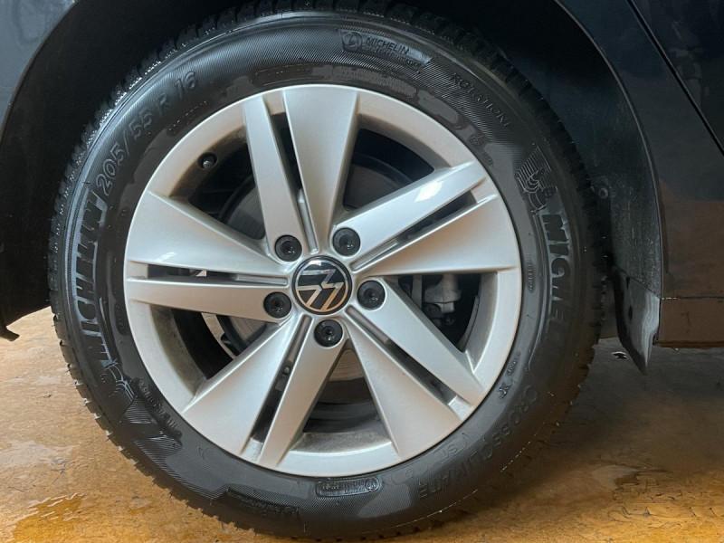 Volkswagen Golf VIII 2.0 TDI 150CH DSG 7 CONNECT GPS Noir occasion à Labège - photo n°4